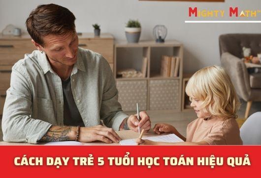 Dạy Trẻ 4 Tuổi Học Toán Bé Dễ Hiểu Nhanh Tiến Bộ